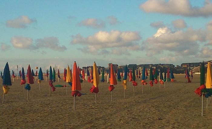 parasoles de Deauville